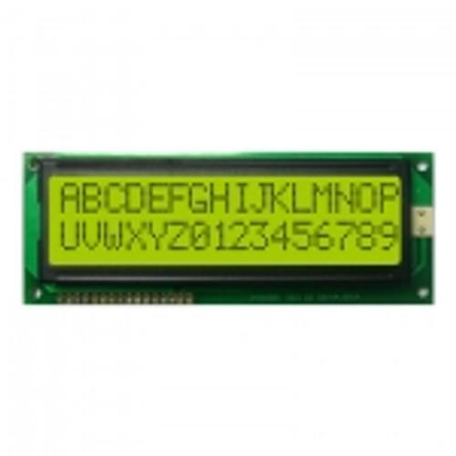 16x2 Character LCD Display (Yellow Green)