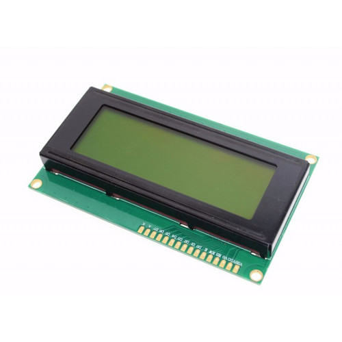 20x4 Character LCD Display (Green)