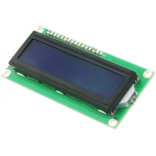16x2 Character LCD Display (Blue)