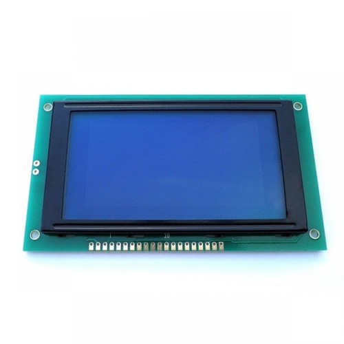128x64 Graphical LCD Display (Blue)