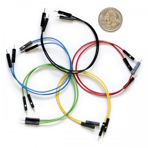 1 Pin Jumper Wire (Male) - Pack of 10