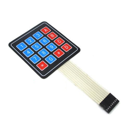 16 Key - 4x4 Matrix Array 16 Key Membrane Switch Keypad Keyboard for Arduino AVR PIC