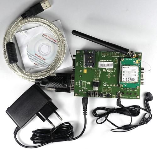 Quectel M95 GSM/GPRS Evaluation Board (EVB) Kit