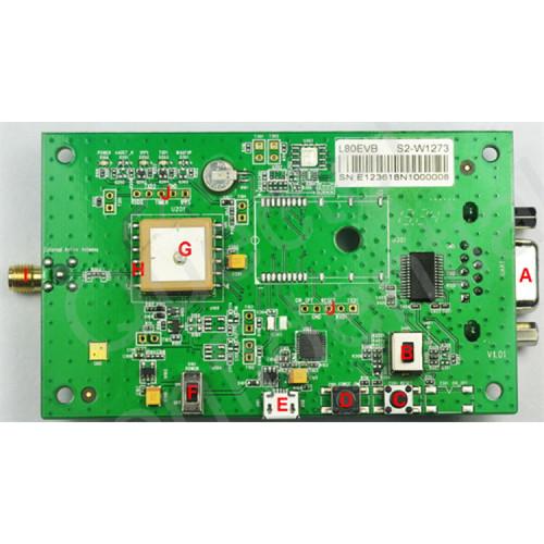 Quectel L80 GPS Evaluation Board (EVB) Kit
