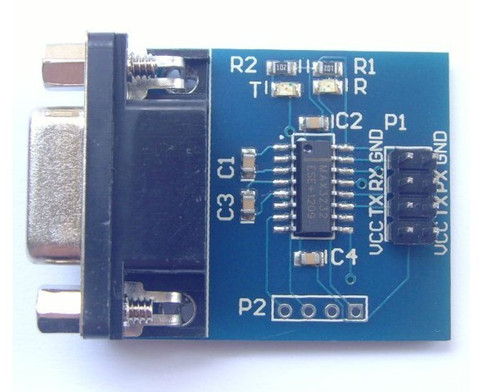 Max3232 Serial Module RS232 to TTL Module With Transceiver Indicator