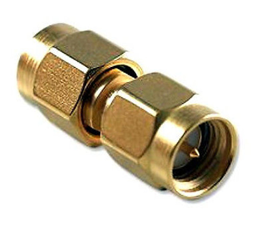 SMA Adapter SMA Plug to SMA Plug Straight (SMA Male to SMA Male Connector)