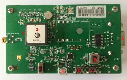 Quectel L86 GNSS Evaluation Board (EVB) Kit