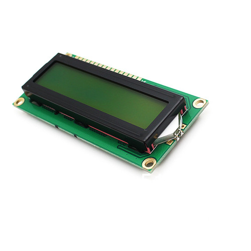 16x2 Character LCD Display (Yellow Green) 3.3V