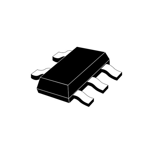 LP5907MFX-3.3/NOPB - 3.3V 250mA Fixed Output LDO Linear Voltage Regulator 5-Pin SOT-23