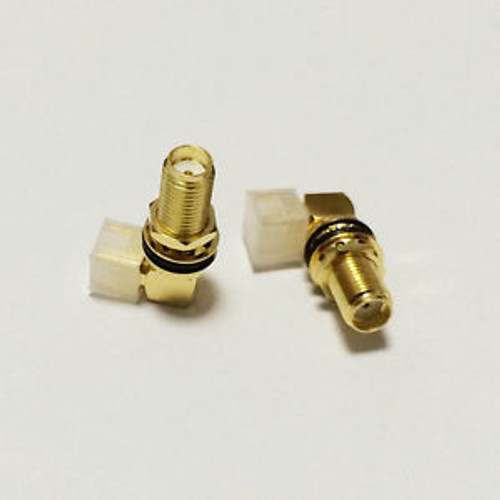 SMA Connector Female - Right Angle (20mm)