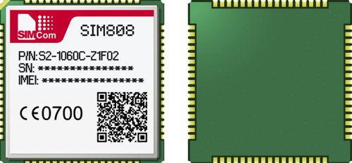 SIM808 Quad-Band GSM/GPRS Module