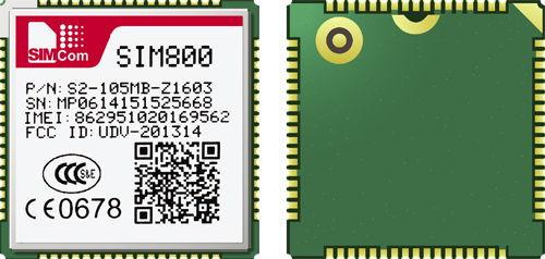 SIM800 Quad-band GSM/GPRS Module