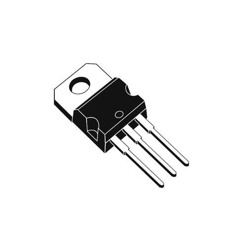 LM317T - 1.2V-37V Adjustable Voltage Regulator 3-Pin TO-220