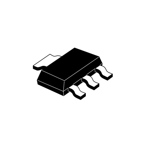 LD1117STR - Adjustable/Fixed Positive Voltage Regulator 4-Pin SOT-223