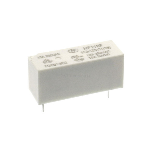 Hongfa HF118F Series 8A SPDT 12VDC PCB Mount Sealed Miniature High Power Relay