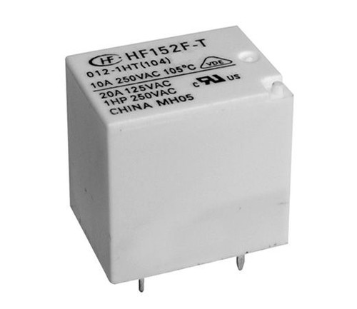 Hongfa HF152F Series 16A SPDT 5VDC PCB Mount Subminiature High Power Relay