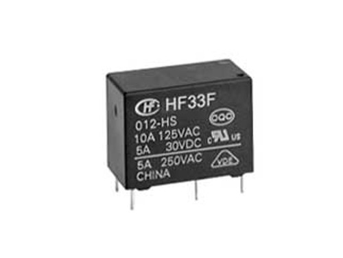 Hongfa HF33F Series 3A SPDT 12VDC Sealed Subminiature Intermediate Power Relay