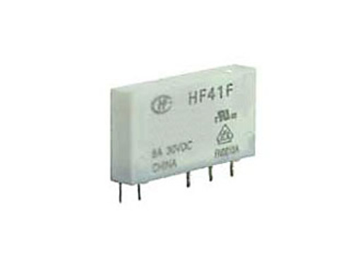 Hongfa HF41F Series 6A SPDT 12VDC PCB Mount Sealed Subminiature Power Relay