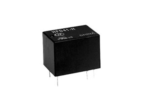 Hongfa HFD41 Series 1A SPDT 12VDC Plastic Sealed Subminiature Signal Relay