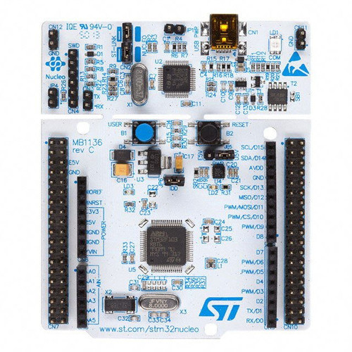 NUCLEO-F072RB STMicroelectronics Board (Arduino Compatible)