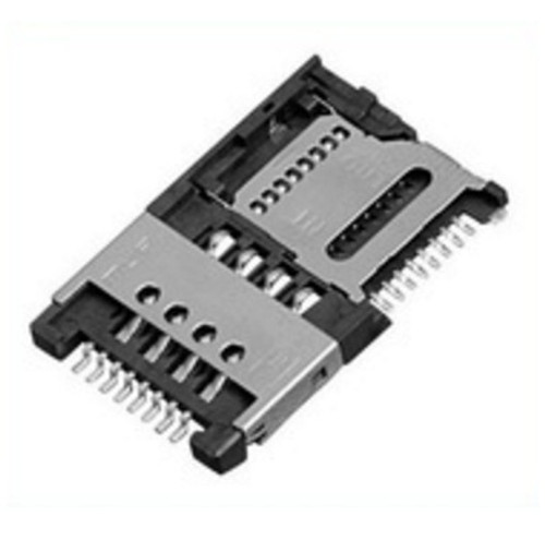 Micro SIM (8 Pin) + Micro SD Card (8 Pin) Holder MUP-M619