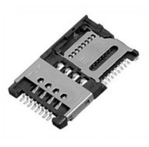 Micro SIM (8 Pin) + Micro SD Card (8 Pin) Holder MUP-M619