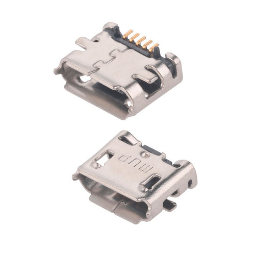 MUP-U521 - 5 Pin Micro USB Female Connector SMT