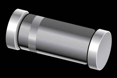 BZV55-C2V7 - 2.7V 5% 500mW Voltage Regulator Zener Single Diode SOD80C