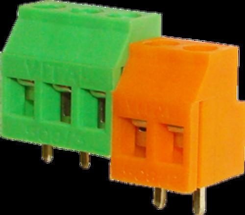 5.08mm 3-pin Screw Type PCB Terminal Block