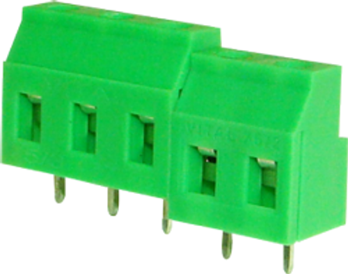 7.62mm 2-pin Screw Type PCB Terminal Block