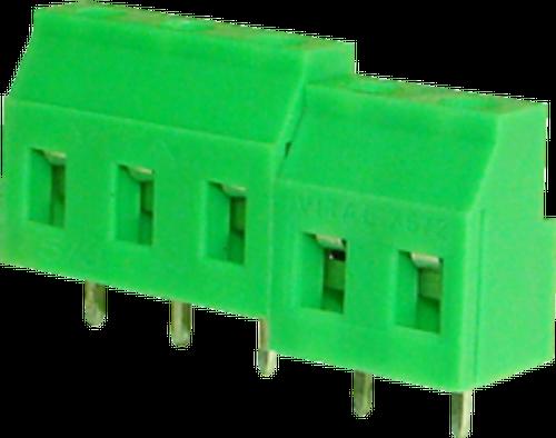 7.62mm 3-pin Screw Type PCB Terminal Block