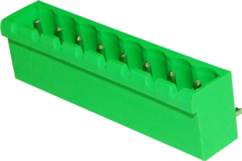 5.08mm 9-pin Right Angle Close Type Male Pluggable (Combicon) Connector