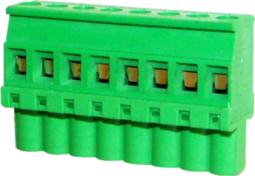 5.08mm 8-pin Straight Female Pluggable (Combicon) Connector