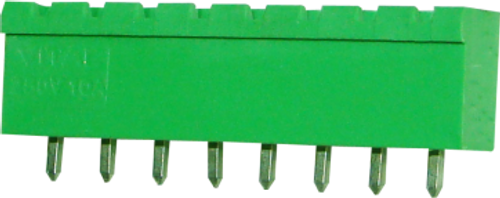 5.08mm 10-pin Straight Closed Male Pluggable (Combicon) Connector