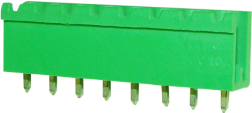 5.08mm 8-pin Straight Open Male Pluggable (Combicon) Connector
