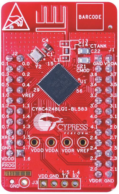 CY8CKIT-143A PSoC 4 BLE 256KB Module with Bluetooth 4.2 Radio