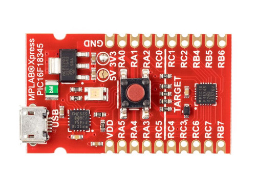 DM164142 - MPLAB Xpress PIC16F18877 Evaluation Board