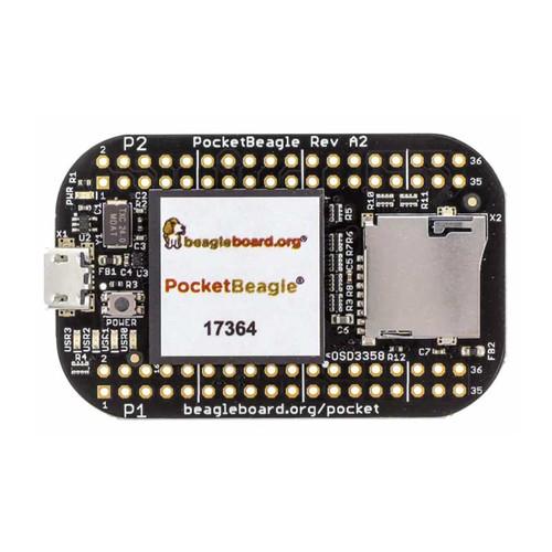 POCKETBEAGLE-SC-569 - OSD3358 - ARM Cortex-A8 MPU Embedded Evaluation Board - GHI Electronics