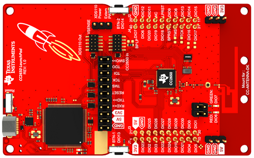 LAUNCHXL-CC2650, SimpleLink Launchpad CC2650 Wireless MCU, BLE