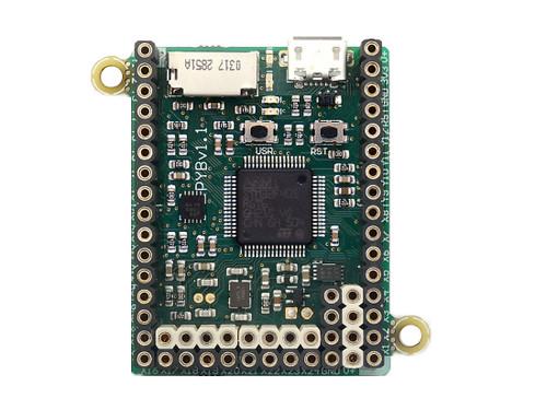 DEV-14413 - MicroPython pyboard v1.1 (with Headers, PYBv1.1H)