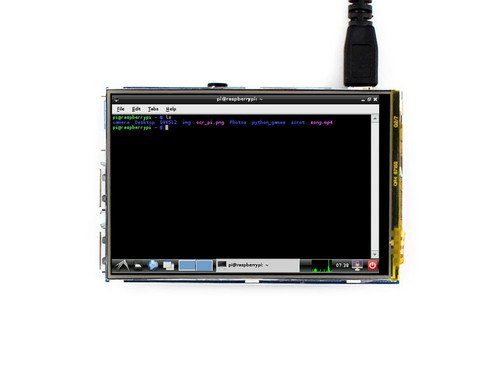 3.5 inch Touch Screen TFT LCD Designed for Raspberry Pi, 320x480 resolution - Waveshare