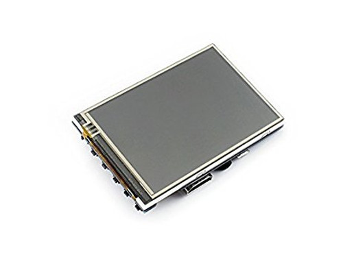 3.5 inch Resistive Touch Screen LCD Designed for Raspberry Pi, HDMI interface, IPS Screen - Waveshare