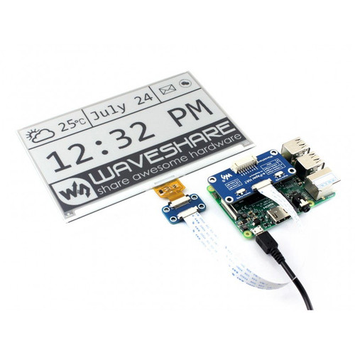 Universal e-Paper Driver HAT, supports various Waveshare SPI e-Paper raw panels