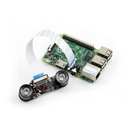Raspberry Pi Camera Module (E), Supports Night Vision - Waveshare