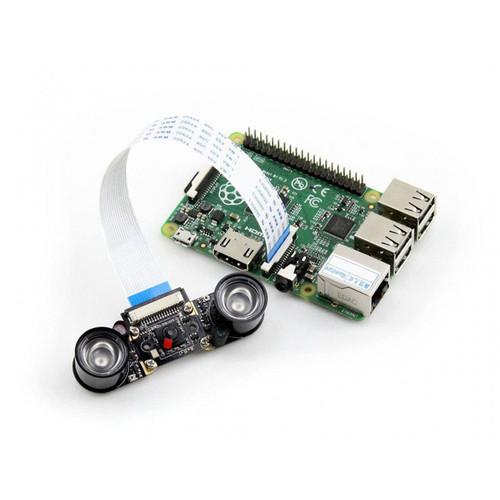 Raspberry Pi Camera Module (E), Supports Night Vision - Waveshare
