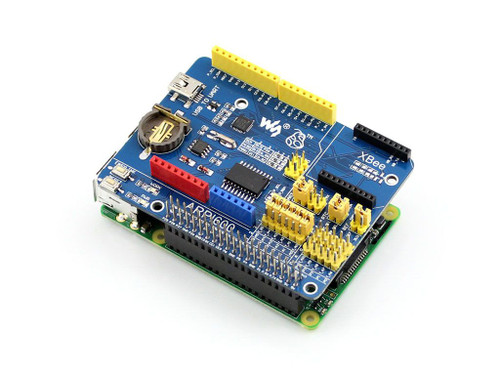 Raspberry Pi Expansion Board, Supports Arduino and XBee - Waveshare