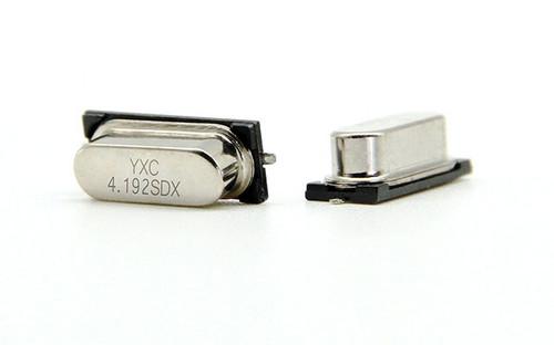 HC-49SMD 4.192MHZ 20PF 20PPM 2Pad SMD/SMT Quartz Crystal