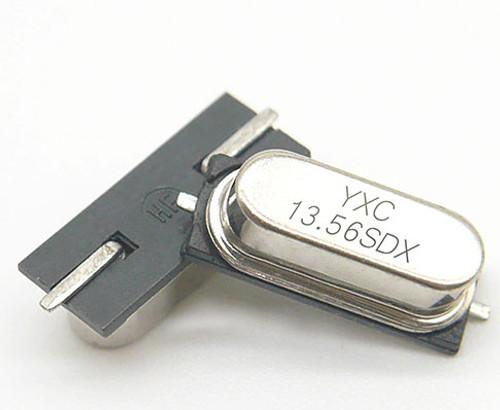 HC-49SMD 13.56MHZ 20PF 20PPM 2Pad SMD/SMT Quartz Crystal