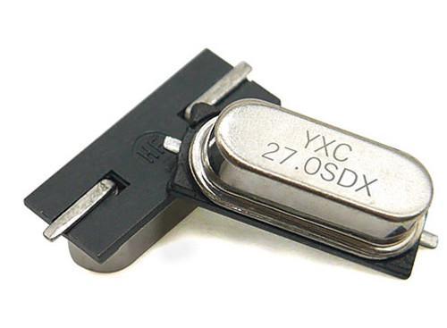 HC-49SMD 27MHZ 20PF 20PPM 2Pad SMD/SMT Quartz Crystal