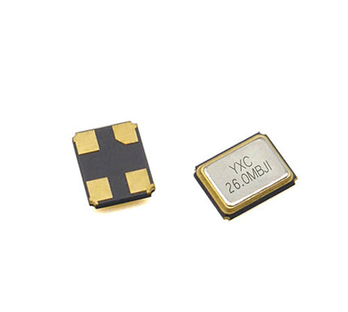 YSX321SL 26MHZ 10PF 10PPM 4pins SMD/SMT Metal Surface Quartz Crystal